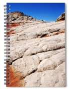 White Pocket 3 Spiral Notebook
