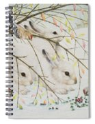 White Rabbits Spiral Notebook