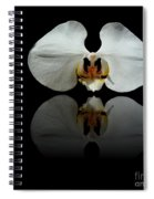 White Reflection Spiral Notebook