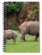 White Rhino 11 Spiral Notebook
