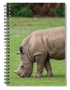 White Rhino 12 Spiral Notebook