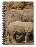 White Rhino 4 Spiral Notebook