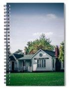 White Rock Light Spiral Notebook