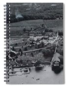 White Roe Lake Hotel-catskill Mountains Ny Spiral Notebook