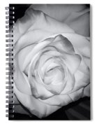 White Rose Passion Impression Spiral Notebook