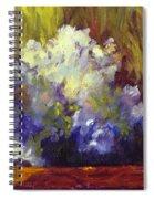 White Roses In Sunlight Spiral Notebook