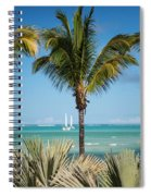 White Sails. Mauritius Spiral Notebook