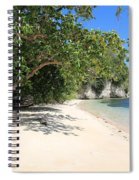 White Sand And Blue Sky Spiral Notebook