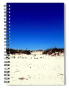 White Sand Blue Skies Spiral Notebook