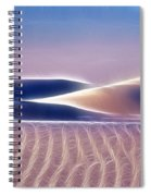 White Sands Abstract Spiral Notebook