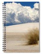 White Sands Cross Spiral Notebook