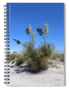 White Sands Dune With Soap Yucca Spiral Notebook