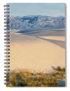 White Sands Morning #1 - New Mexico Spiral Notebook