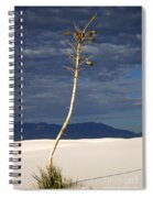 White Sands National Monument 2 White Sands New Mexico Spiral Notebook