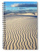 White Sands Of New Mexico Spiral Notebook
