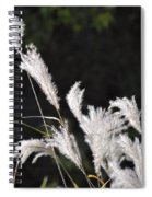 White Seed Spiral Notebook