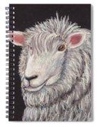 White Sheep Spiral Notebook