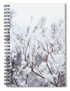 White Silence Spiral Notebook