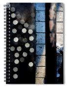 White Sneakers On The Edge Spiral Notebook