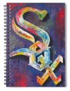 Chicago White Sox Baseball Spiral Notebook