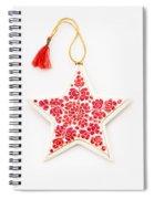 White Star Spiral Notebook