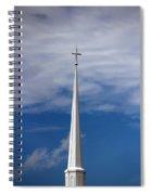 White Steeple Spiral Notebook