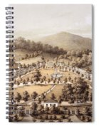 White Sulphur Springs, Montgomery County, Va Spiral Notebook