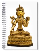 White Tara Spiral Notebook