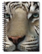 White Tiger - Up Close And Personal Spiral Notebook