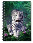 White Tigers Spiral Notebook