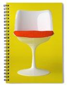 White Tulip Chair. Spiral Notebook