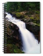 White Water Falling  Spiral Notebook