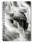 White Water Falls Spiral Notebook