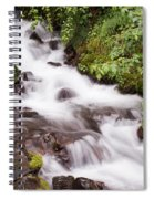 White Water Spiral Notebook
