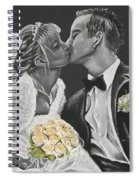 White Wedding Spiral Notebook