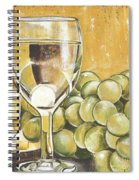 White Wine And Cheese Spiral Notebook