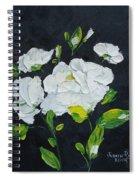 White Wonder Spiral Notebook