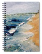 Whitecaps On Lake Michigan 3.0 Spiral Notebook