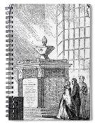 Whitefield Monument Spiral Notebook
