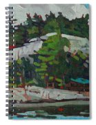Whitefish River Cottages Spiral Notebook