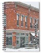 Whitehouse Ohio In Snow 7032 Spiral Notebook