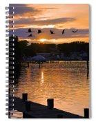 White's Cove Silhouette Spiral Notebook
