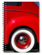 Whitewalls Two Spiral Notebook