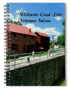 Whitewater Canal Locks Spiral Notebook