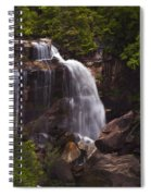Whitewater Falls Nc Spiral Notebook
