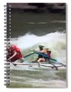 Whitewater Rafting Spiral Notebook