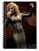 Whitney Houston Spiral Notebook