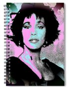 Whitney Houston Sing For Me Again Spiral Notebook