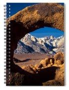 Whitney Portal Spiral Notebook