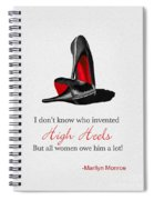 Who Invented High Heels? Spiral Notebook